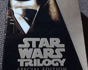 Star Wars trilogy gold edition vhs tapes