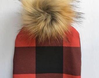 Interchangeable tassel, flowers, fur, child Hat