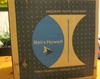 Bell & Howell film editor