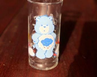Grumpy bear juice glass