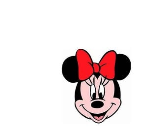 Minnie Mouse Embroidery File, Brother, Singer, Janome, Tajima, Vicking, Vicking SE, Melco, Babylock Professional