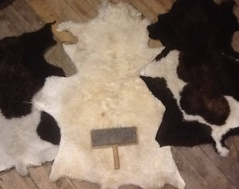 Sheepskin rugs, no harsh chemicals , hand made. Native American, traditional