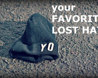 Lost hat. Your favorite lost hat