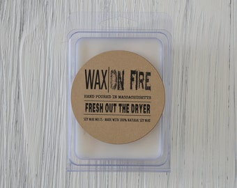 Fresh Out The Dryer (Laundry Scented) Soy Wax Melts