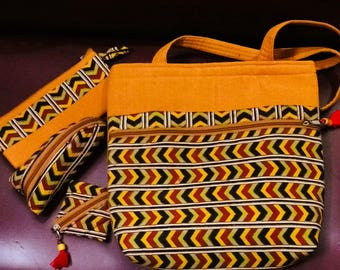 Hand crafted Tote bag set