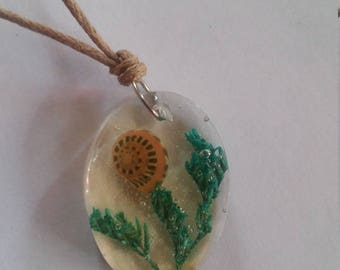 Oval Seashell Necklace