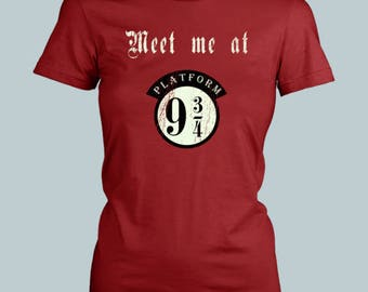Meet Me At Platform 9 3/4 - Women / Fitted / Harry Potter