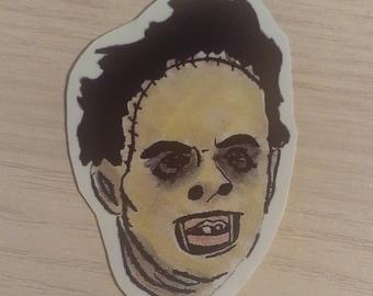 Leatherface Sticker