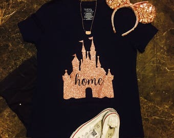 Disney Shirt/ There's No Place Like Home