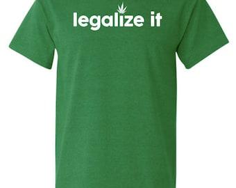 St. Patrick's Day Shirt, St. Paddy's Day shirt, St Patrick's Day Glitter shirt,legalize it T-shirt