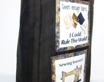 The quilter's large tote bag