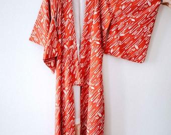 Handmade Japanese vintage kimono