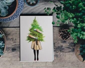 Watercolor - tree