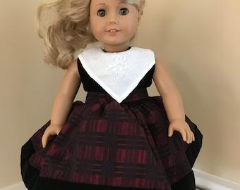 "18"" doll dress that fits an American Girl doll"