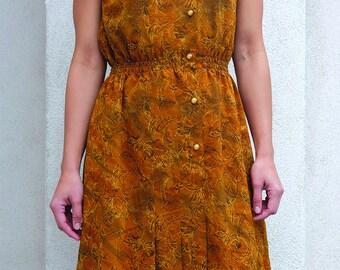 Vintage Dress '80 Style