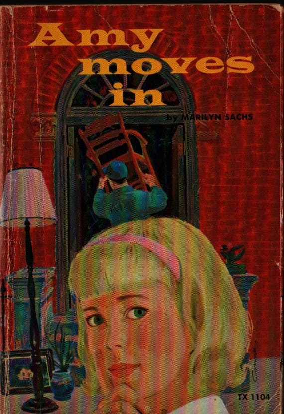 Amy Moves In - Marilyn Sachs - Mac Conner - 1967 - Vintage Teen Book