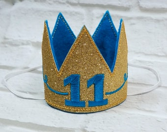 Dog Birthday Hat Crown, Dogs First Birthday, Gold Dog King Crown, Gold Mini Crown, Gotcha Day Crown, Cake Smash Crown,  Crown Photo Prop