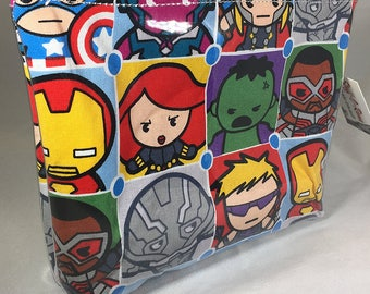 Make Up Bag - Marvel Avengers Icons Zipper Pouch