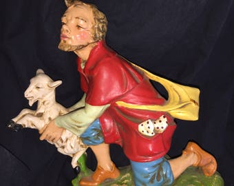 Vintage Large Nativity Scene Piece