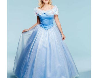 DIY  Sewing Pattern Simplicity 1026-Cinderella and Fairy Godmother-Size 6-14
