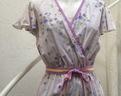 Vintage 1980's Frock/ Medium/Boho/Romantic