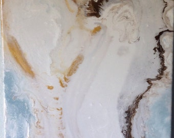 Abstract Angel Painting