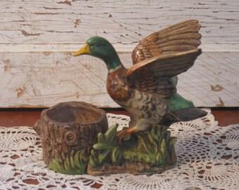 Mallard Duck Planter Vintage Duck Planter Vintage Planter