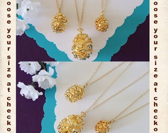 Gold Pinecone Necklace, Gold, Real PineCones, Gold Pine Cones, Redwood, Long Layered Gold Necklace, PC62