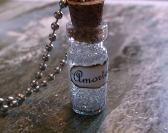 Amortentia / Mini Glass Bottle Necklace