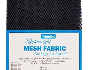 Mesh fabric Light Weight--18 inch x 54 inch Pocket Mesh NAVY BLUE