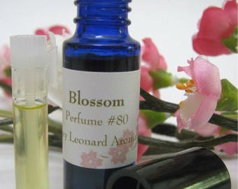 Blossom Natural Perfume ~ Essential Oils, Absolutes, Natural Isolates, Jojoba Oil, Fractionated Coconut Oil