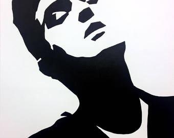 Original Morrissey - The Smiths  Handpainted Framed Pop Art Canvas Painting