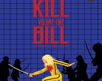 KILL BILL Poster Artwork