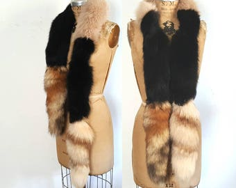 Fox Fur Scarf BOA / collar