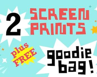 2 Print Sale Bundle plus Free Goodie Bag
