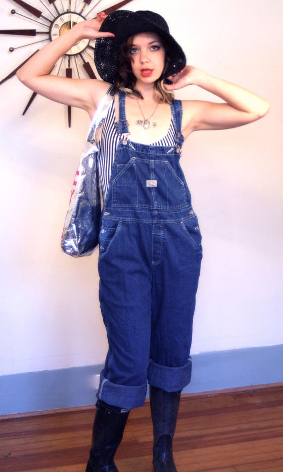 Womens Overalls, 90s Overalls, Denim Overalls, Vintage Overalls, Blue Jean Overalls, Old Navy Overalls, 90s dungarees, Boxy Overalls, Sz M