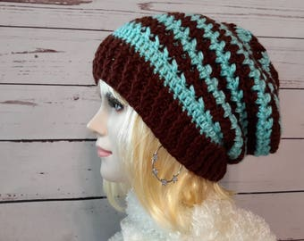 Crochet Slouch hat Womens hat Knitted womens hat Crochet womens beanie Womens knit hat crochet slouchy beanie knit hats Slouchy hat crochet