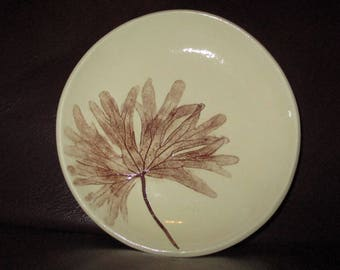 Real Leaf Handmade Ceramic wall hanging                                     233