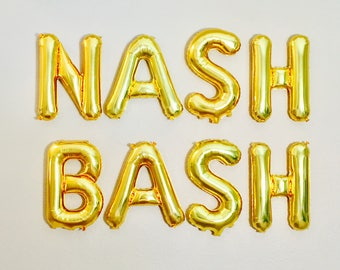 Nash Bash Balloons, Rose Gold Nash Bash, Nash Bash Party, Nash Bash Bachelorette, Nashelorette,Last bash in Nash,Nash Bash Banners,Nash Bash