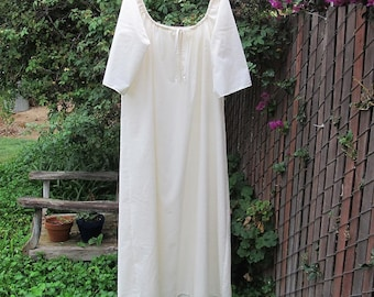 Outlander Inspired Claire Shift Womens XS - 2X  Renaissance Chemise Nightgown Custom Made