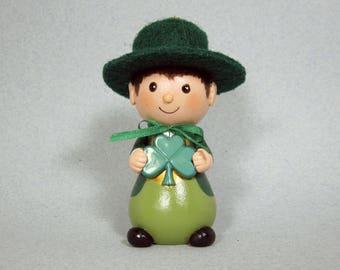 St. Patrick's Day Leprechaun Ornament