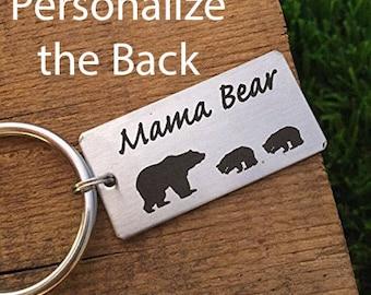 Mama Bear Keychain Mama Keychain Gift for Mama Bear Gift Idea Keychain For Her For Mom Birthday Gift Mom Christmas Gift Mom Gift