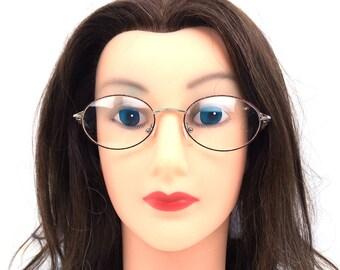 oval eyeglasses. 90s glasses. deadstock vintage. eyeglasses vintage. blue plastictortoise shell. gold metal. eyeglasses frames. unisex. 241