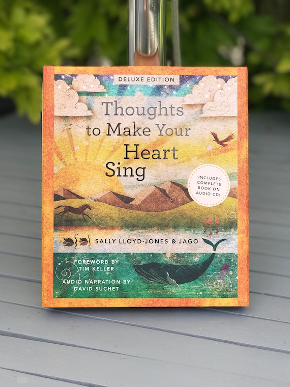 Signed book - Thoughts To Make Your Heart Sing Deluxe Edition  - by Sally Lloyd Jones