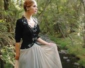 1940s Dress / 40s Dress / 40s Gown / Ballroom Gown / Long Dress / Formal / Party