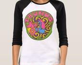 Taurus... Taurus T Shirt... Taurus Birthday... Taurus Gift... 3/4 Length Sleeves... Unisex Style... 60s 70s Inspired