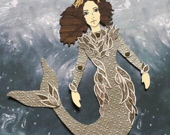 Mermaid Paper Doll 128 - Margaery Tyrell