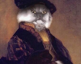 NEW PORTRAIT*** Piers Felis, 6th Viscount Shiraz - 8 X 10 Fine Art Print