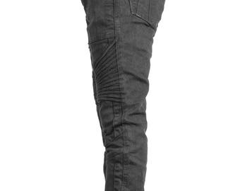 MERGE JEANS - Men's Jeans with ribbed knees - Moto Pant - Designer Jeans - Jan Hilmer