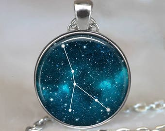 Cancer Constellation necklace, Cancer Zodiac necklace constellation pendant constellation jewelry Cancer jewelry Zodiac jewelry key chain